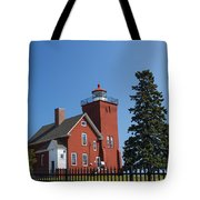 Two Harbors Mn Lighthouse 24 Tote Bag