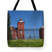 Two Harbors Mn Lighthouse 25 Tote Bag
