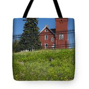 Two Harbors Mn Lighthouse 26 Tote Bag