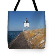 Two Harbors Mn Pier Light 10 Tote Bag