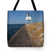 Two Harbors Mn Pier Light 11 Tote Bag