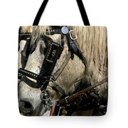 Two Horse Power Tote Bag