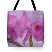 Two Hothouse Beauties Tote Bag
