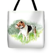 Two Hounds Tote Bag