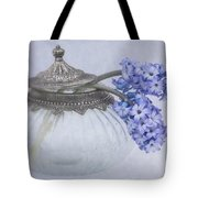 Two Hyacinth Flowers Tote Bag