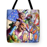 Two Jesters Tote Bag by Caitlyn  Grasso