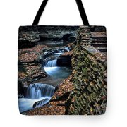 Two Kinds Of Steps Tote Bag by Frozen in Time Fine Art Photography