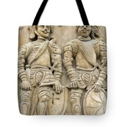 Two Knights - House Sign Tote Bag
