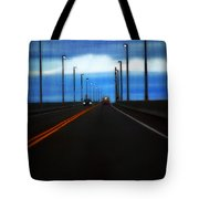 Two-lane Blacktop Tote Bag