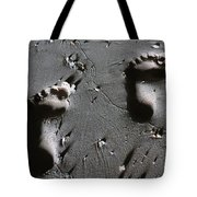 Two Left Feet Tote Bag by Ramona Johnston