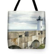 Two Lights Tote Bag