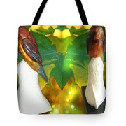 Two Lovely Birds Tote Bag