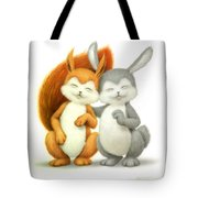 Two Lovely Friends Tote Bag