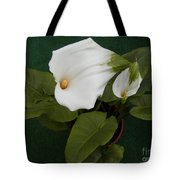 Two Lovely Lilies Tote Bag