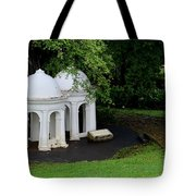 Two Meditating Cupolas In Fort Canning Park Singapore Tote Bag