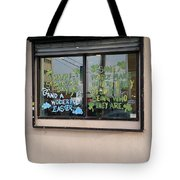 Two Messages Tote Bag