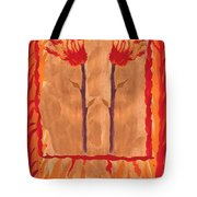 Two Of Wands Tote Bag