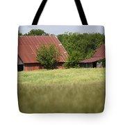 Two Old Barns Tote Bag
