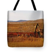 Two Old Barns Near Thorp  Wa Tote Bag