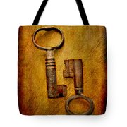 Two Old Keys Tote Bag