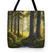 Two Old Spruce Tote Bag