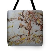 Two Olive Trees Tote Bag