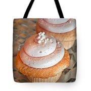 Two Pink Cupcakes Art Prints Tote Bag