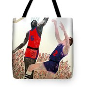 Two Points Tote Bag