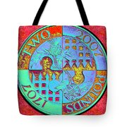 Two Pounds Tote Bag
