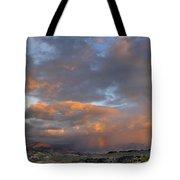Two Rainbows In Sierra Nevada Tote Bag