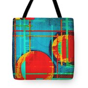 Two Red Suns Tote Bag