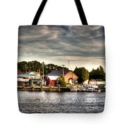 Two Rivers Pierhead Lighthouse  Tote Bag