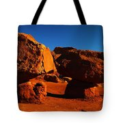 Two Rocks At Cliff Dwellers Tote Bag