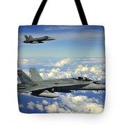 Two Royal Australian Air Force Fa-18 Tote Bag