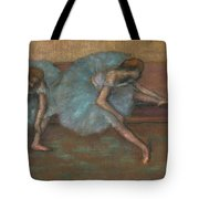Two Seated Dancers Tote Bag