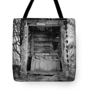 Two-seater Outhouse Tote Bag