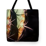 Two Shades Of Cactus Tote Bag