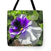 Two Shades Of Color Tote Bag