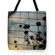 Two Sides Of The Fence Tote Bag