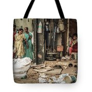 Two Sides To One Story Tote Bag