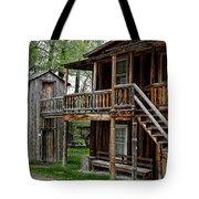 Two Story Outhouse - Nevada City Montana Tote Bag