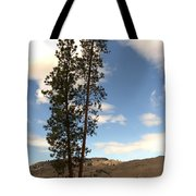 Two Tall Pines Tote Bag