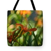 Two Tiger Lillies...   # Tote Bag