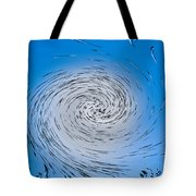 Two Tone Vortex Tote Bag
