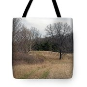 Two Track Tote Bag