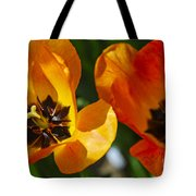 Two Tulips Tote Bag by Elena Elisseeva