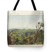Two Views Of The Himalayas Tote Bag