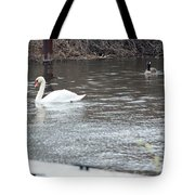 Two Waterfowl Tote Bag