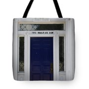 Two Whale Oil Row - Blue Door - New London Tote Bag