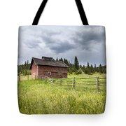 Two Window Barn Tote Bag